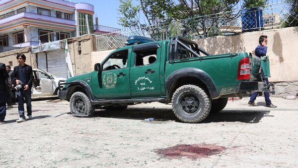 На месте взрыва в Кабуле, Афганистан - Sputnik Аҧсны