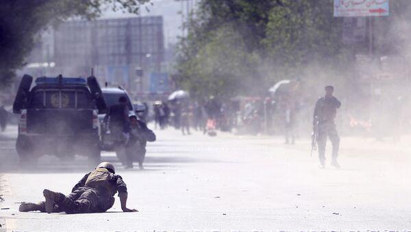 Место взрыва в Кабуле, Афганистан - Sputnik Аҧсны