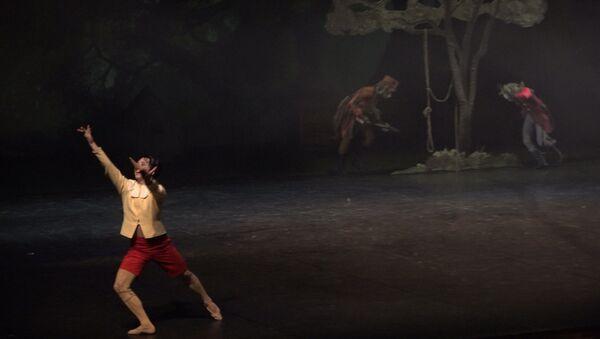 Пиноккио и джигиты: абхазы исполнили лезгинку в сербском балете - Sputnik Абхазия