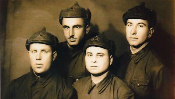 Семен Агрба во время Великой Отечественной войны - Sputnik Абхазия