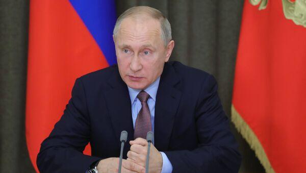Президент РФ В. Путин провел совещание по экономическим вопросам - Sputnik Аҧсны