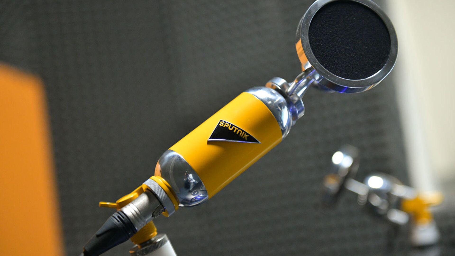 Микрофон - Sputnik Абхазия, 1920, 19.08.2021