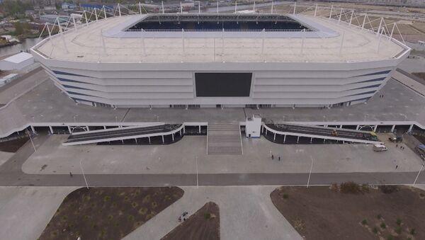 Стадион Калининград примет 4 матча ЧМ-2018 - Sputnik Абхазия