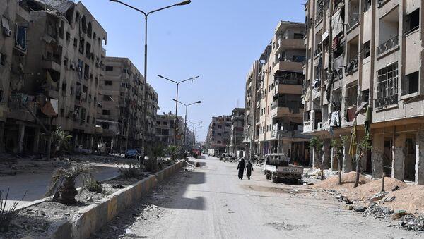 Ситуация в сирийском городе Дума - Sputnik Абхазия