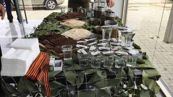 В магазине Премиум прошла акция посвященная Дню победы - Sputnik Абхазия