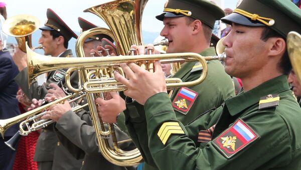 Празднование 73-ей годовщины Дня Победы в ВОВ в Сухуме - Sputnik Абхазия