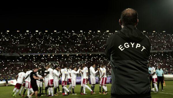 Сборная Египта по футболу готовится к Чемпионату мира в России - Sputnik Абхазия