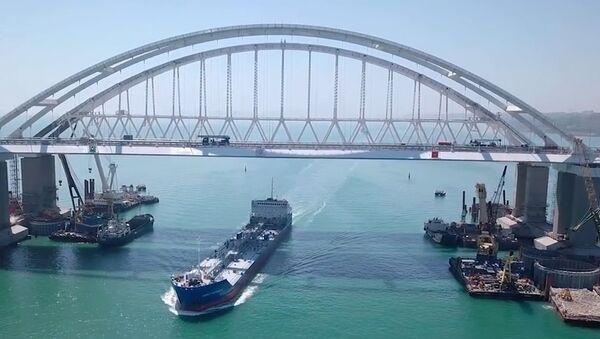 Как строили Крымский мост. - Sputnik Абхазия