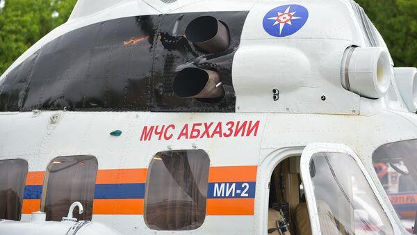Смотр техники и снаряжения МЧС Абхазии на площади Свободы - Sputnik Аҧсны