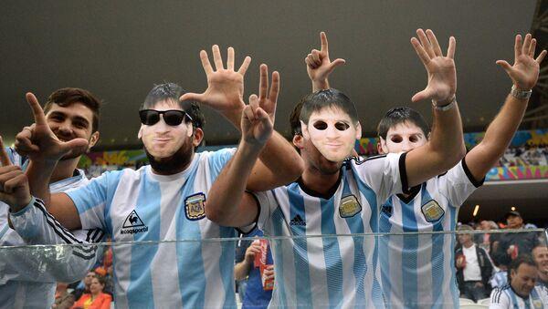 Футбол. Чемпионат мира - 2014. Матч Нидерланды - Аргентина - Sputnik Абхазия