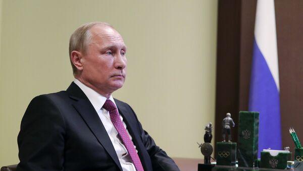 Президент РФ В. Путин встретился с канцлером ФРГ А. Меркель - Sputnik Аҧсны