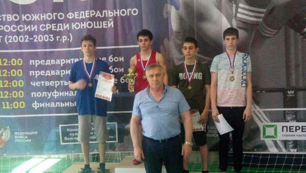 Золото и две бронзы завоевали абхазские боксеры в Волгограде - Sputnik Абхазия