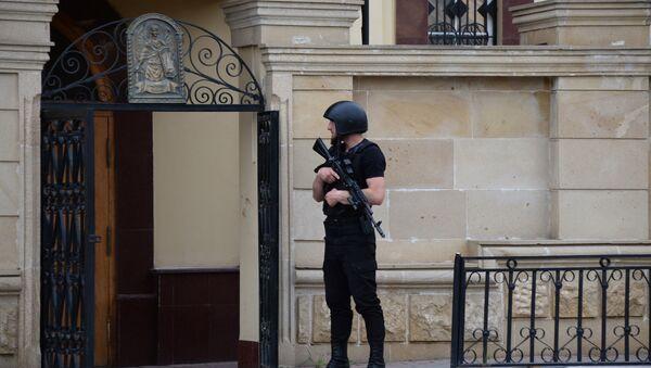 Боевики попытались захватить заложников в церкви в Грозном - Sputnik Абхазия