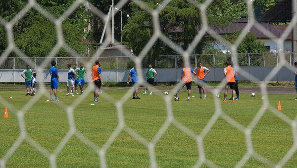 Тренировка Сборной Абхазии по футболу - Sputnik Аҧсны
