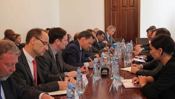 Встреча с Сопредседателями Женевских Дискуссий - Sputnik Абхазия
