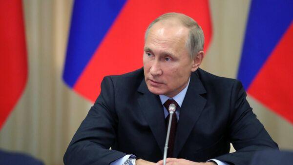 Президент РФ Владимир Путин, фото из архива - Sputnik Абхазия