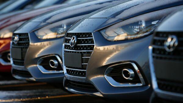 Производство обновленного Hyundai Solaris в Ленинградской области - Sputnik Абхазия