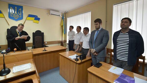 Кирилл Вышинский на суде - Sputnik Абхазия