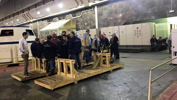 Последствия аварии на ИНГУР ГЭС устранены - Sputnik Аҧсны