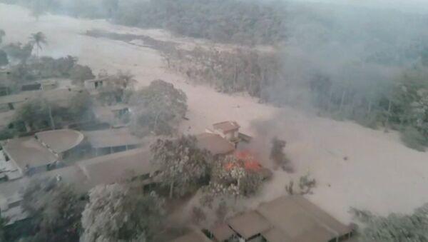 Извержение вулкана в Гватемале - Sputnik Абхазия