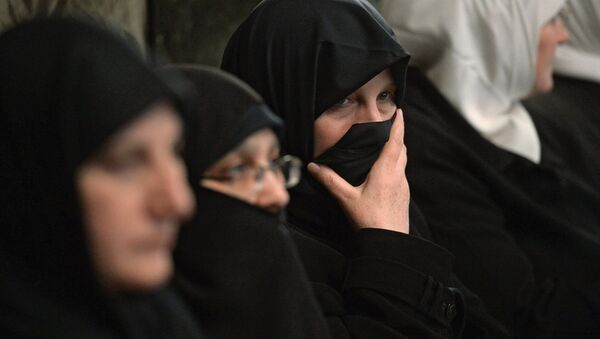 Женщины в парандже - Sputnik Абхазия