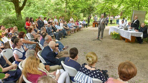Пушкинские чтения в ботаническом саду - Sputnik Абхазия