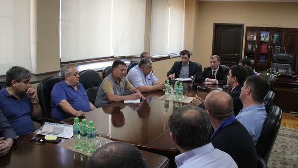 Расширенное совещание по вопросам отрасли связи и массовых коммуникаций - Sputnik Абхазия