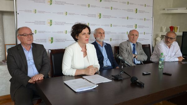 Пресс-конференция Министерства культуры Абхазии - Sputnik Абхазия