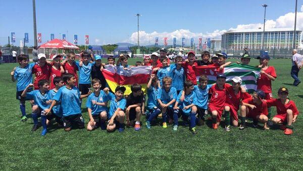 Абхазский Уругвай выиграл Всероссийский футбольный турнир в Сочи - Sputnik Аҧсны