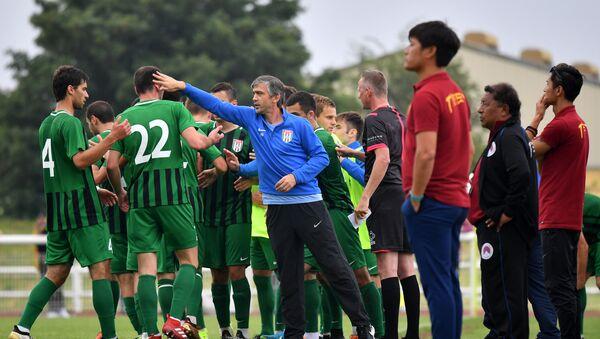 Сборная Абхазии по футболу на чемпионате CONIFA - Sputnik Аҧсны