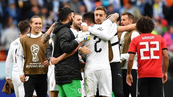 Футбол. ЧМ-2018. Матч Египет - Уругвай - Sputnik Аҧсны