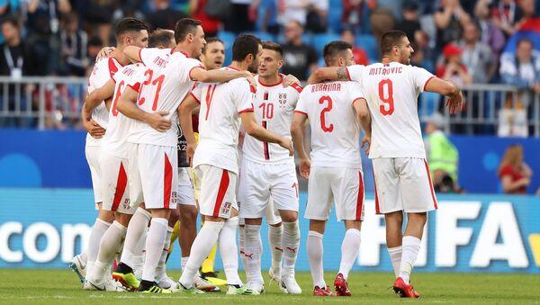 Футбол. ЧМ-2018. Матч Коста-Рика - Сербия - Sputnik Абхазия
