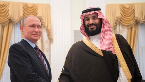 Встреча президента РФ Владимира Путина с заместителем наследного принца Саудовской Аравии Мухаммадом ибн Салманом Аль Саудом - Sputnik Абхазия