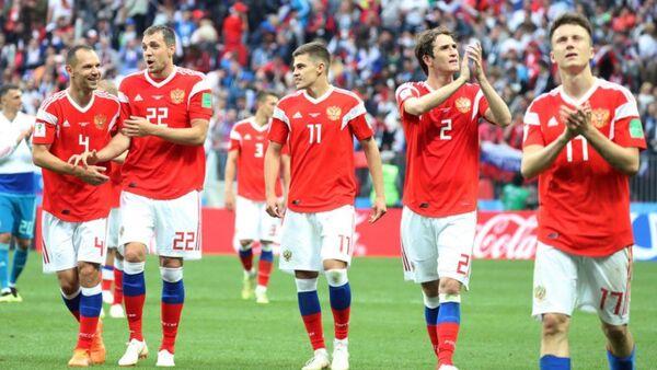 Сборная России по футболу - Sputnik Аҧсны