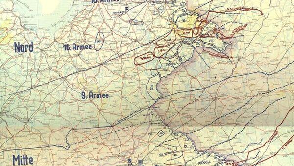 Трофейная карта «План Барбаросса» - Sputnik Абхазия