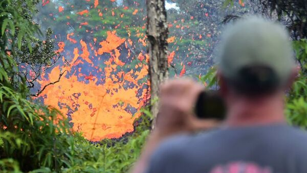 Извержение вулкана Килауэа на Гавайях - Sputnik Абхазия
