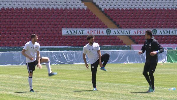 Тренировка сборной Египта - Sputnik Абхазия