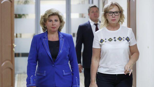 Уполномоченный по правам человека в России Т. Москалькова провела встречу с украинской коллегой Л. Денисовой - Sputnik Абхазия