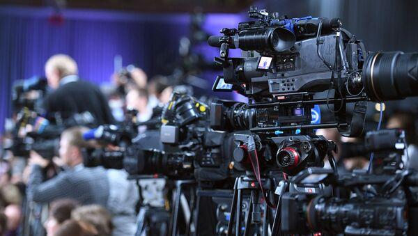 Ежегодная большая пресс-конференция президента РФ Владимира Путина - Sputnik Аҧсны
