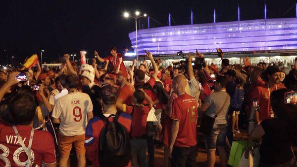 Бельгийские и британские фанаты устроили гуляния в Калининграде - Sputnik Абхазия