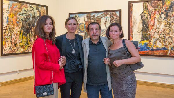 Выставка произведений Александра Семенцова Болевой синдром в Русском музее в Санкт-Петербурге - Sputnik Абхазия