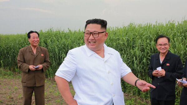 Лидер северной Кореи Ким Чен Ун - Sputnik Абхазия