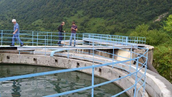 Водозаборные сооружения в Ткуарчале - Sputnik Абхазия