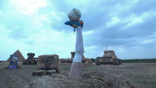 На Ставрополье воздвигли памятник ноге Игоря Акинфеева - Sputnik Абхазия