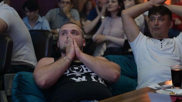 Сорвать голос: болельщики SputnikFanZone превзошли себя - Sputnik Абхазия