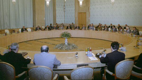 Встреча руководителей России, Грузии и Абхазии по вопросу прекращения огня - Sputnik Абхазия