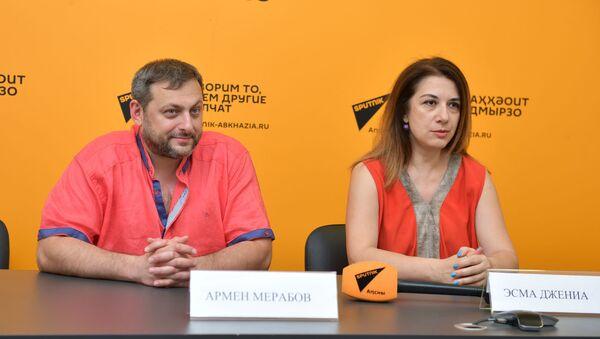 Пресс-конференция посвященная джазовому фестивалю - Sputnik Абхазия