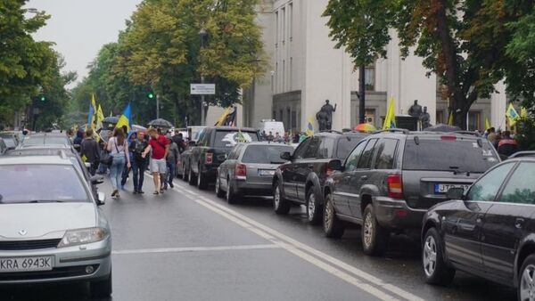 Около пяти тысяч человек митингуют в центре Киева - Sputnik Абхазия