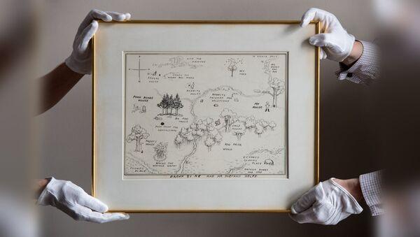 Карта к книге про Винни-Пуха ушла с молотка за рекордные $570 тысяч - Sputnik Аҧсны