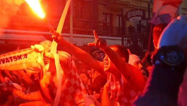 Реакция болельщиков на результаты матча Хорватия – Англия - Sputnik Абхазия